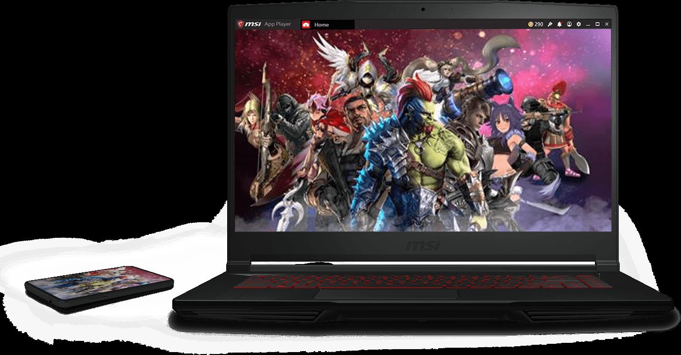 MSI GF63 Thin 10SC 10th Gen Gaming Laptop With 64GB RAM & 2TB SSD
