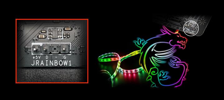 B550 RGB LED