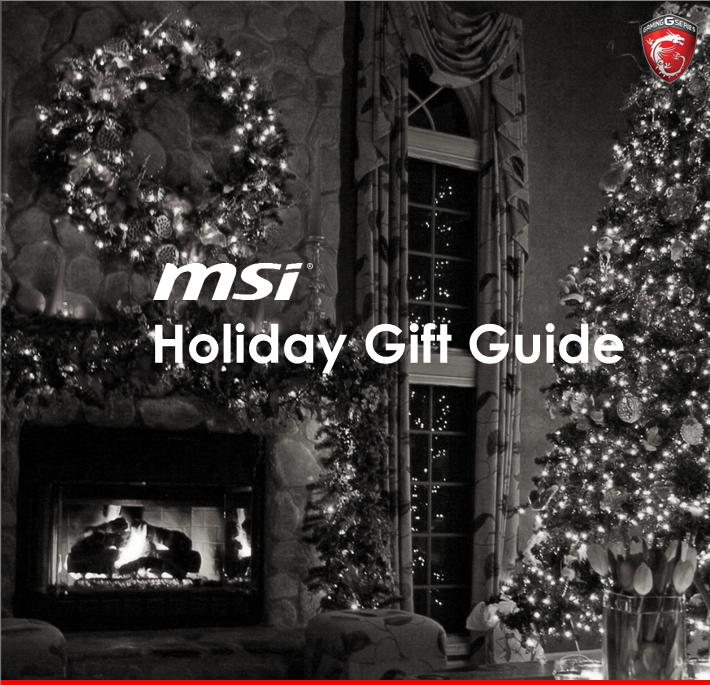 Guide de Noël MSI