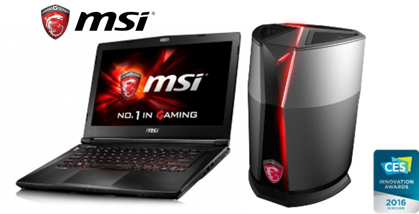 MSI Showcases Future of PC Gaming at CES 2016