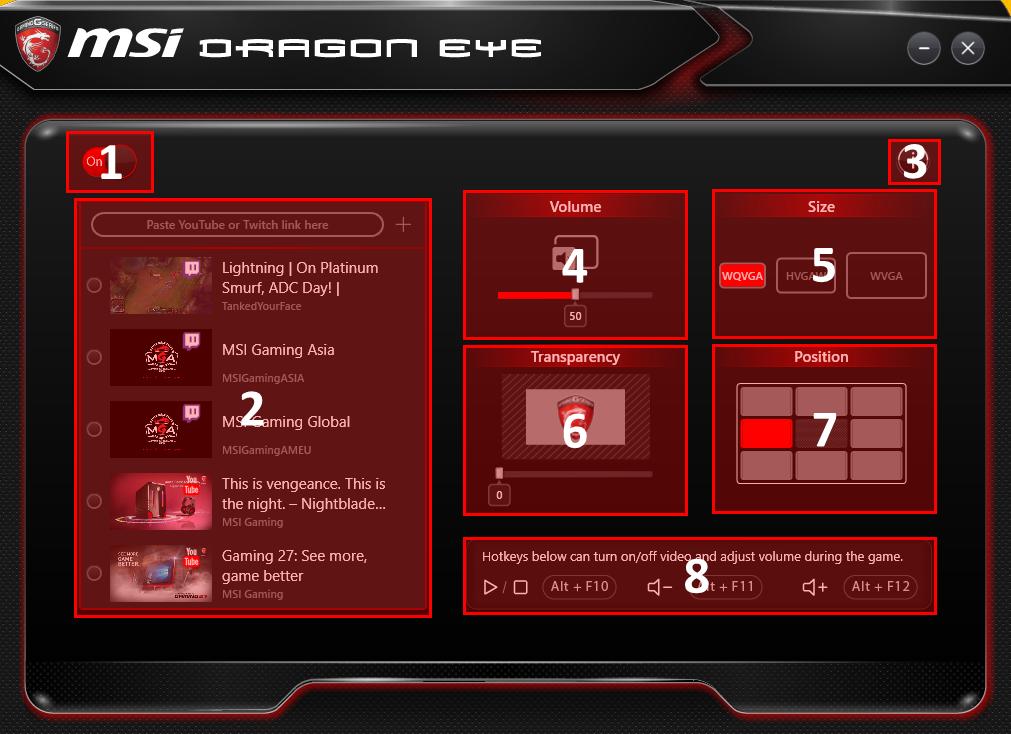 Découvrez la nouvelle fonction Dragon Eye permettant de lire une vidéo pendant votre partie
