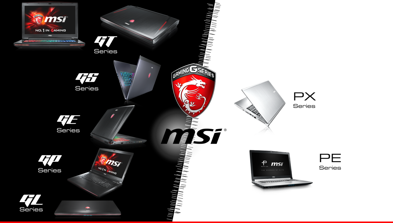 Which MSI notebook best suits you?