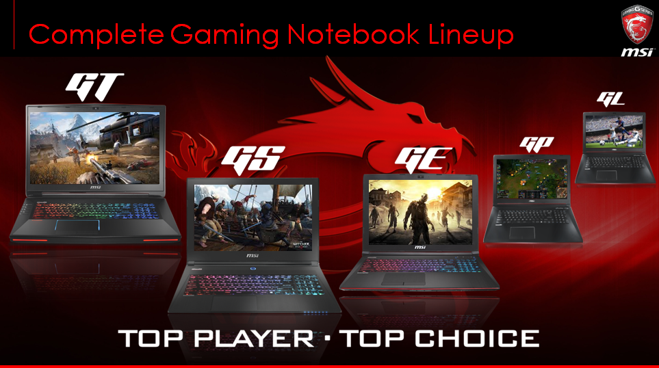 Pourquoi choisir les notebooks gaming MSI ?