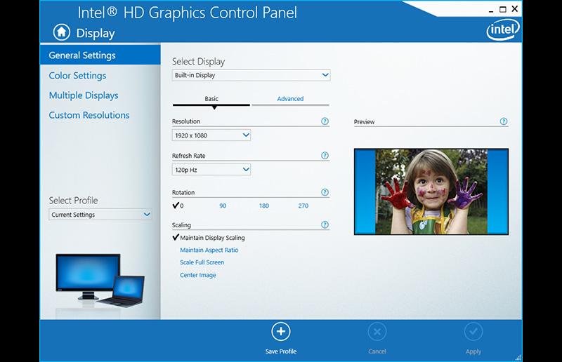 Игровой ноутбук с дисплеем 120Hz/5мс