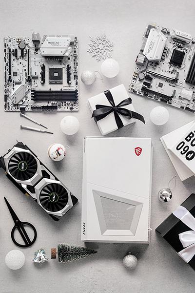 Лучшие подарки на новый год: белоснежное или полноцветное оформление ПК