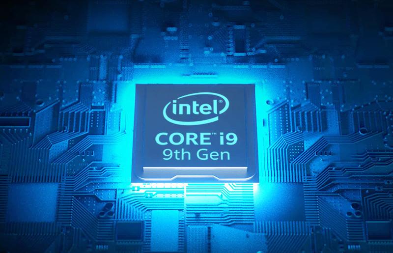 Profitez de plus de puissance avec un processeur Intel® Core™ de 9ème génération et une carte graphique RTX 20