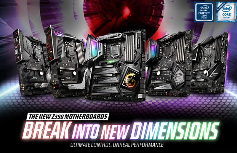 Nützliche Tipps zum Übertakten von Intel-CPUs der 9. Generation mit den MSI Z390-Motherboards