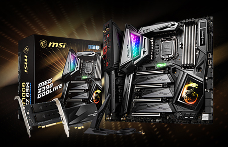 MSI MEG Z390 GODLIKE gets the fastest WiFi module with Killer!