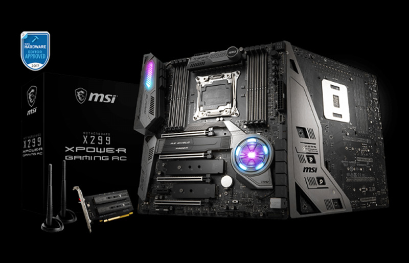 Step into the next generation of RAID performance with MSI motherboards