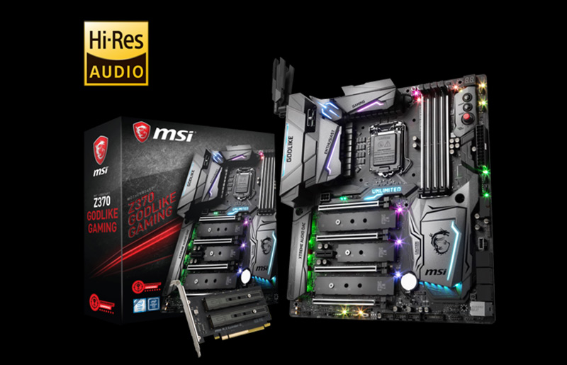 The Best Choice For Overclocking| MSI Z370 GODLIKE GAMING MOTHERBOARD