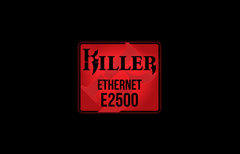 Ensures the lowest latency and highest throughout - Killer Ethernet E2500