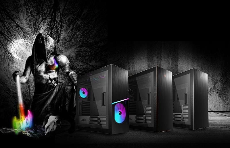 就让全新 MPG SEKIRA 500 系列来升级你的下一个 PC 机箱!