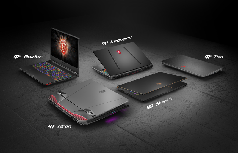 Comprendere meglio i nomi dei gaming laptop MSI