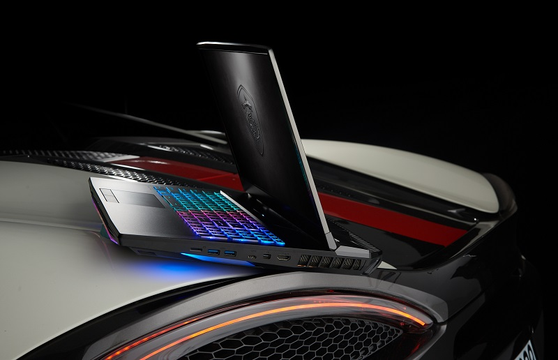 Najładniejszy laptop: Flagowy laptop GT76 Titan inspirowany futurystycznymi supersamochodami