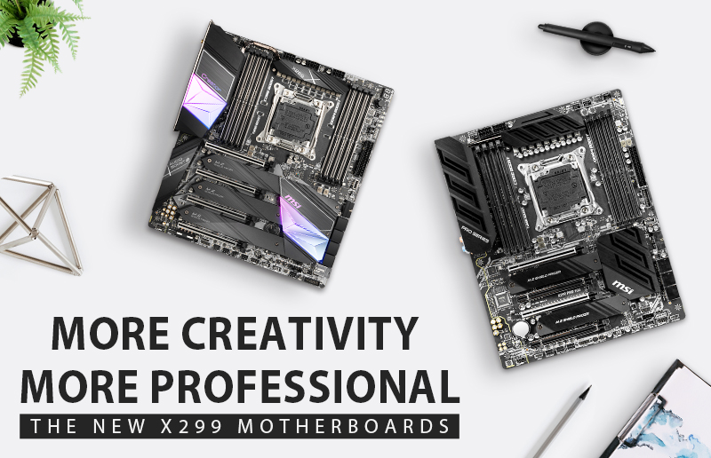 Deep Look into the New MSI X299 Motherboards