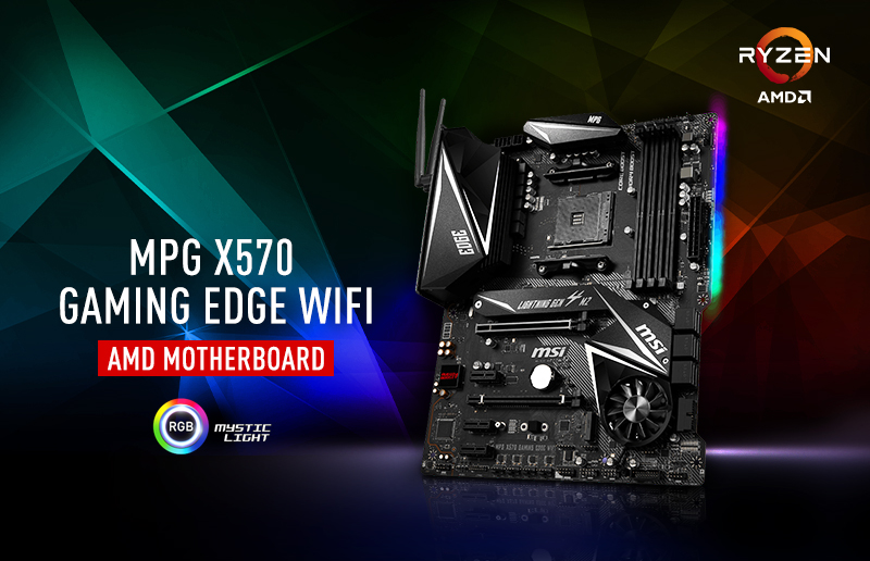 Combinación de MSI MPG X570 GAMING EDGE WIFI y R7 3700X