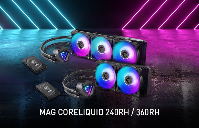 CES 2020 Round-up: MSI Launches the MAG CORE LIQUID Range of AIO Coolers for CPUs