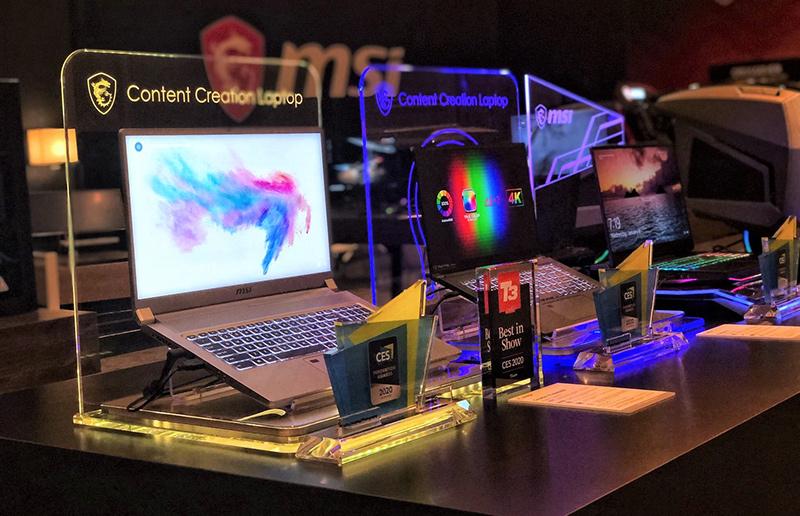 Самое интересное с выставки CES-2020: взгляд в будущее с новейшими ноутбуками MSI
