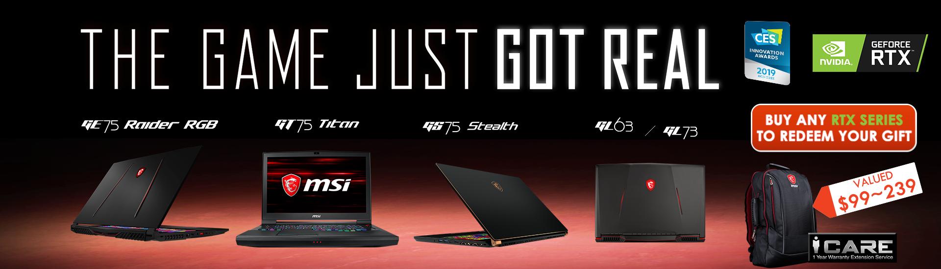 RTX Laptop Launch