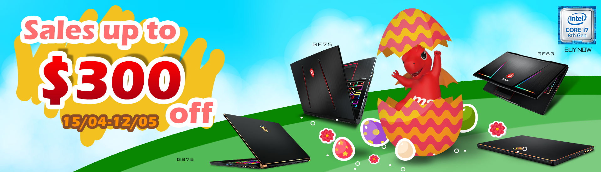 Easter Laptop Promo