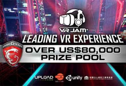 The short list of MSI VR JAM competing for the US$80,000 Prize Pool!