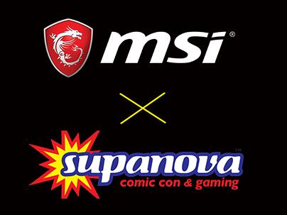 Gaming Gets A Serious Upgrade At Supanova Thanks To MSI