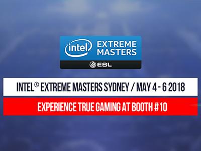 MSI at  Intel Extreme Masters (4-6/05/2018)