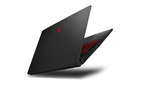 MSI Launches the Latest GF75 THIN -A Brand New Metallic Design Thin Bezel Gaming Laptop with Drop-Down Hinges