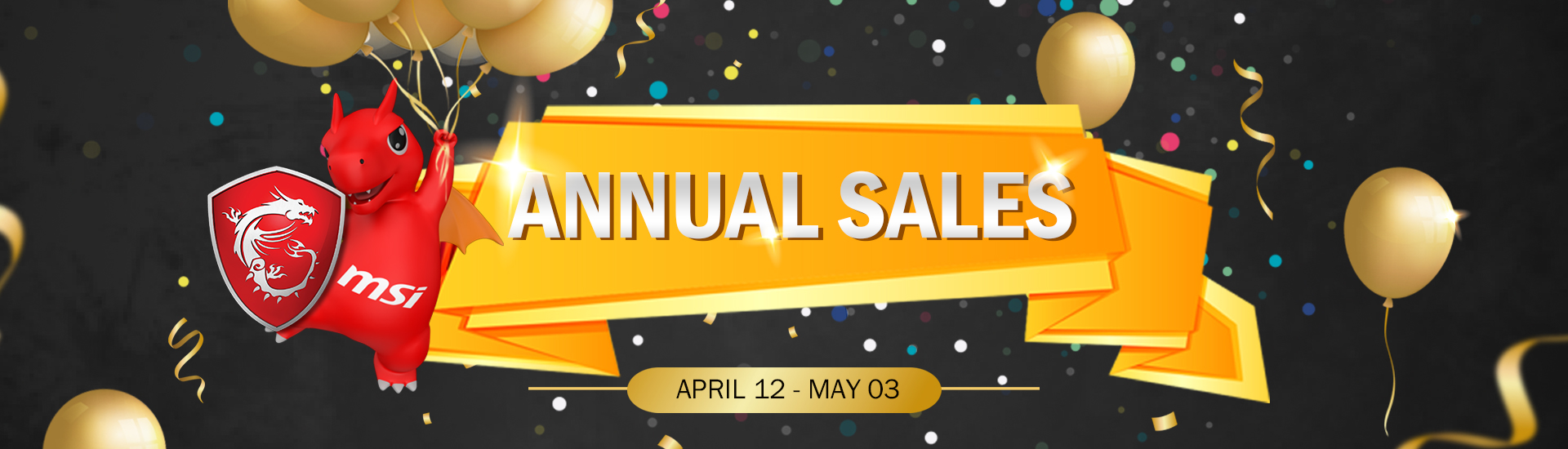 MSI Annual Special Sales Event