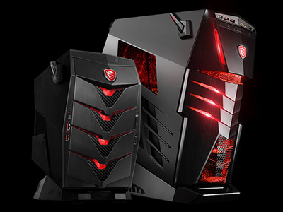 MSI Introduces all new Gaming Desktop Line-up based on Intel kaby lake platform and Nvidia 10-series graphics cards<br> G.A.M.E. UNLIMITED