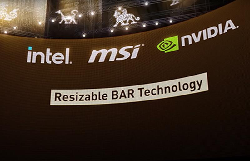 微星全新游戏笔记本电脑配备最新的NVIDIA Resizable Bar 技术