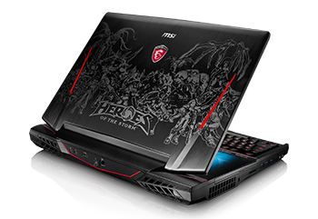 MSI Gaming Notebooks im »Heroes of the Storm« Design