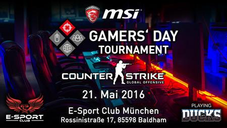 MSI GAMERS' DAY Tournament mit starken Gewinnen