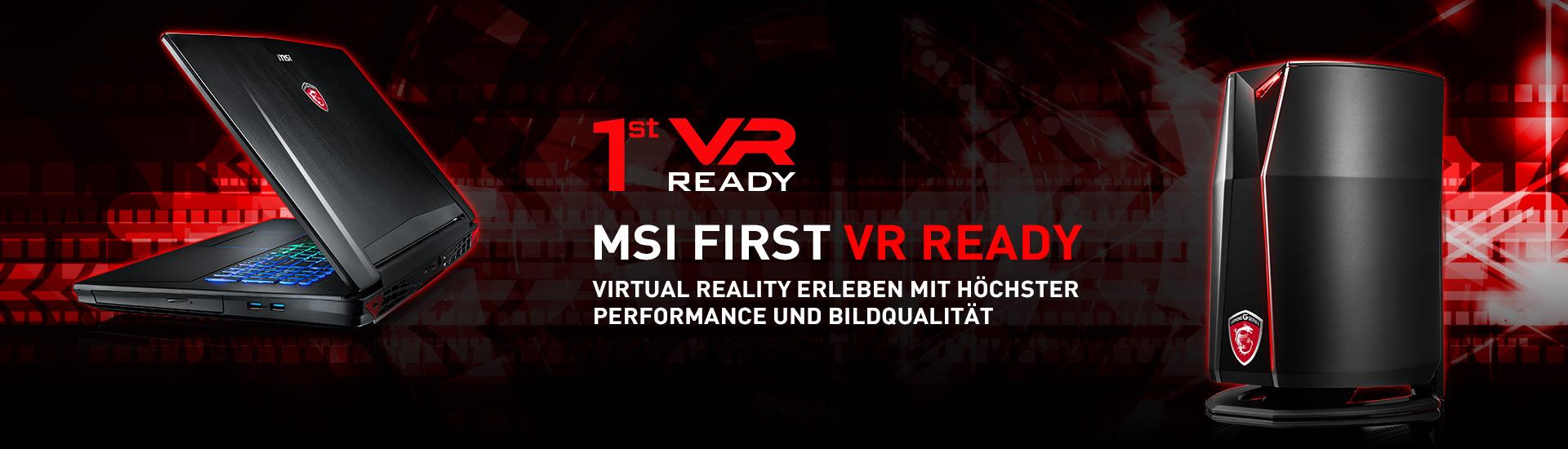 COMPUTEX 2016: MSI ist »VR Ready«