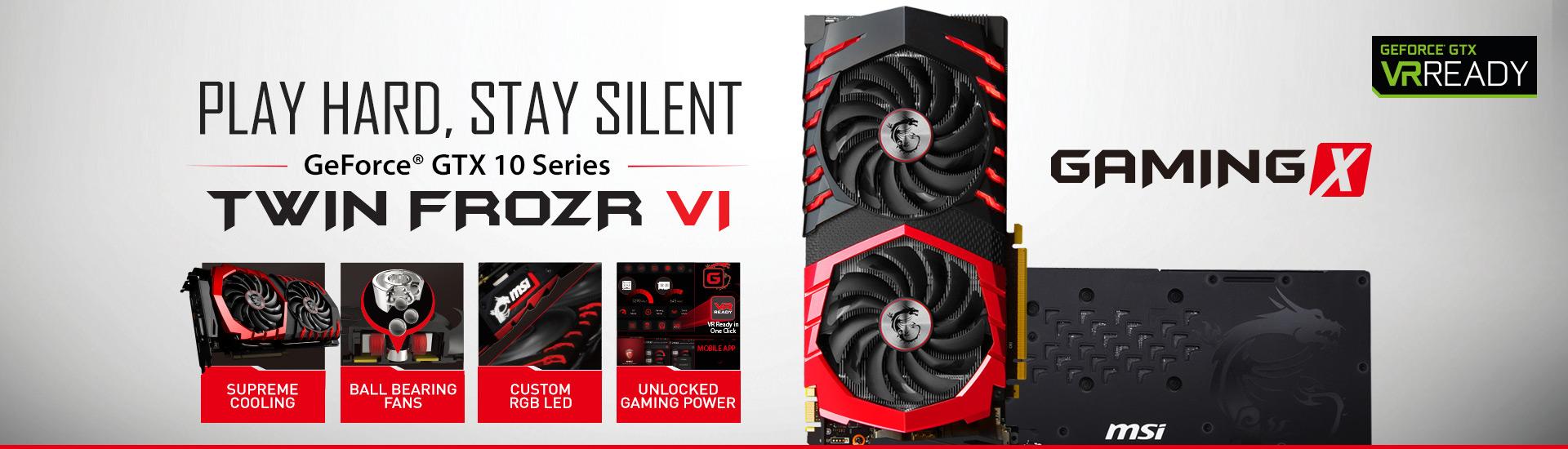 MSI präsentiert die neue GeForce® GTX 1080 Grafikkartenserie