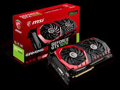 MSI stellt Custom-Varianten der NVIDIA GeForce GTX 1070 vor
