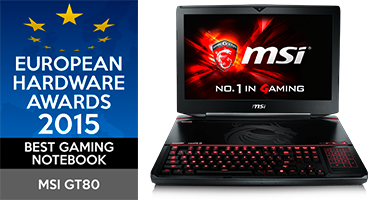 MSI vierfacher Sieger bei den European Hardware Awards 2016