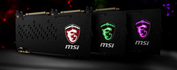 MSI GAMING Z: Neue Enthusiast-Grafikkarten der GeForce® GTX 1000er-Serie