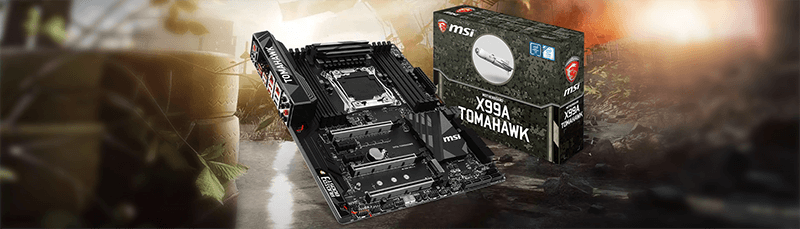 MSI X99A TOMAHAWK: Erstes Motherboard der Arsenal-Serie mit Multi-GPU-Support