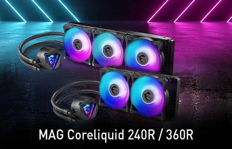 CES 2020: MSI veröffentlicht die MAG Coreliquid-Kühler-Reihe für CPUs