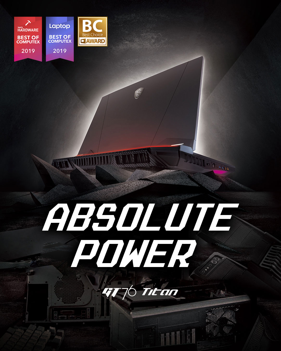 GT76 Titan - Absolute Power