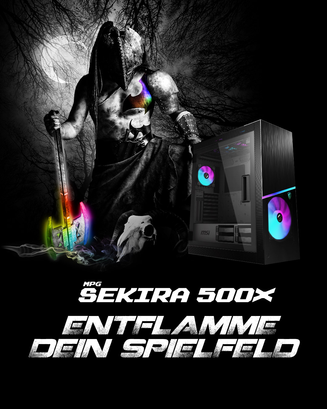 MPG Sekria 500X