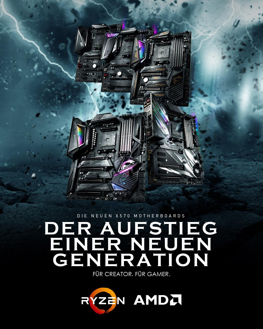 AMD X570 Serie