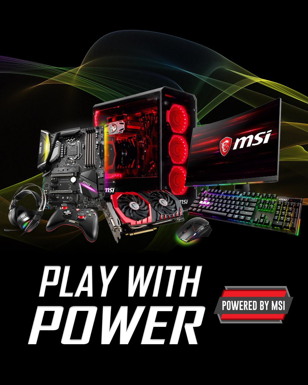 Powered by MSI 2019