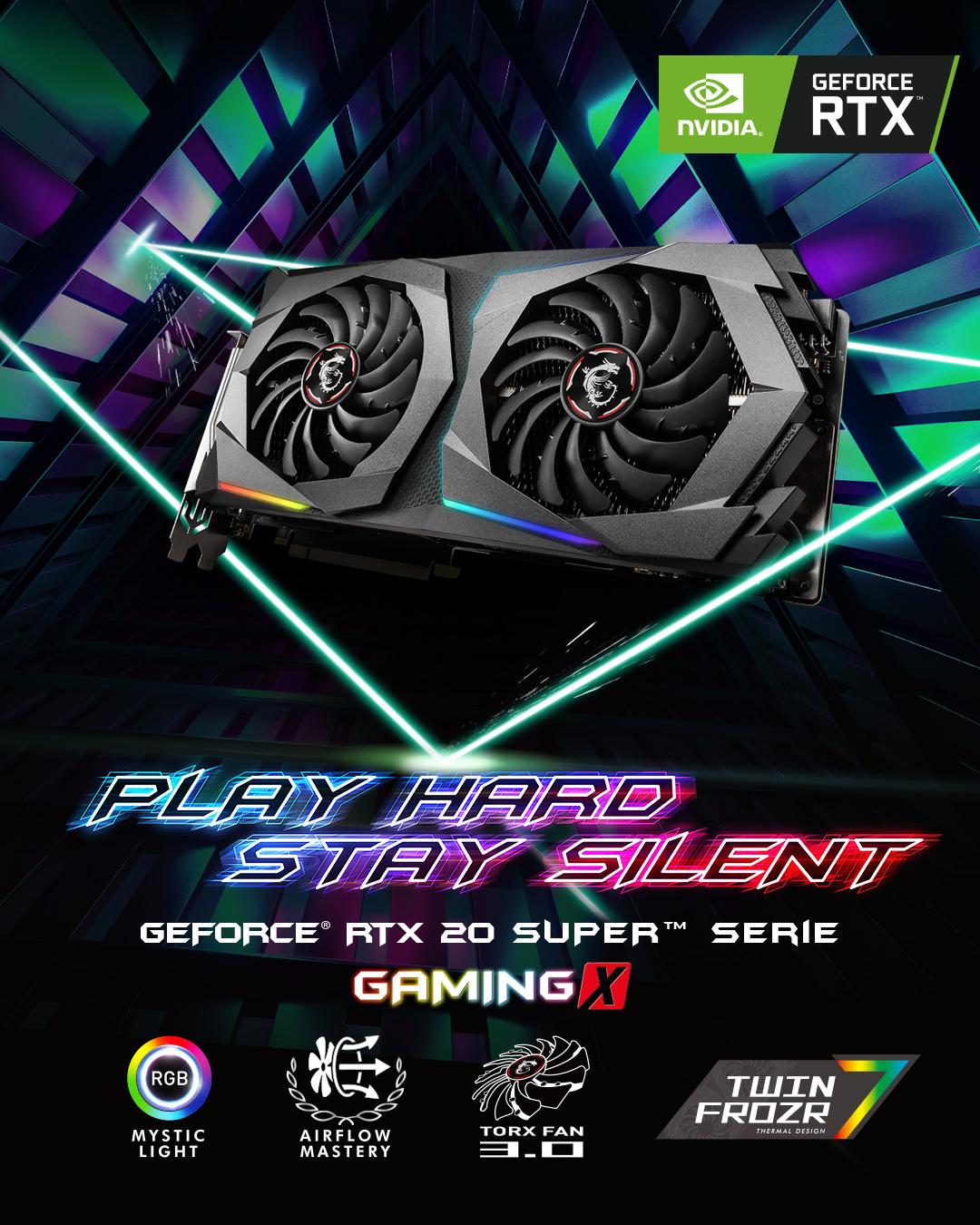 Nvidia GeForce RTX 20 SUPER Gaming Serie