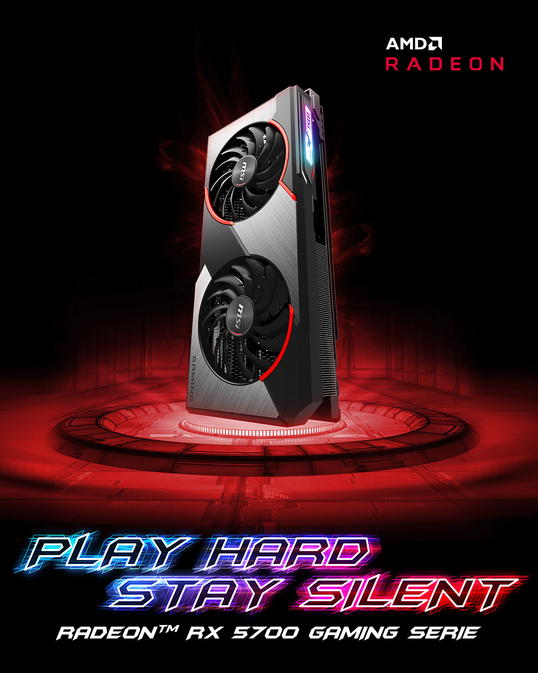 AMD RX5700 Gaming Serie