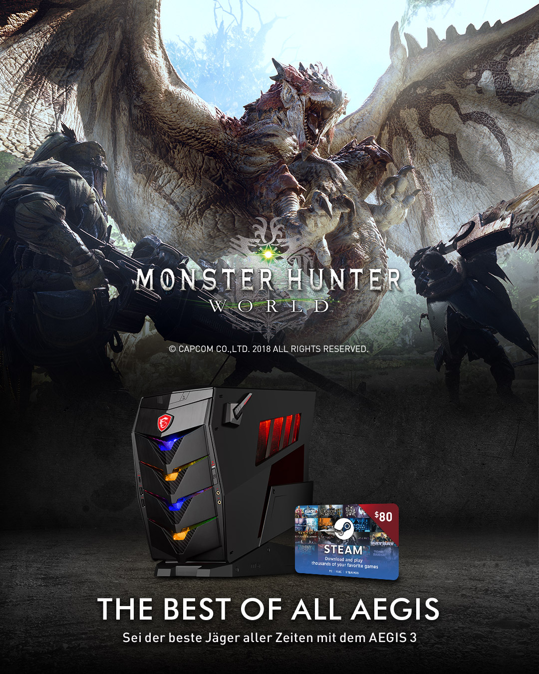 Aegis 3 Game Bundle Monsterhunter