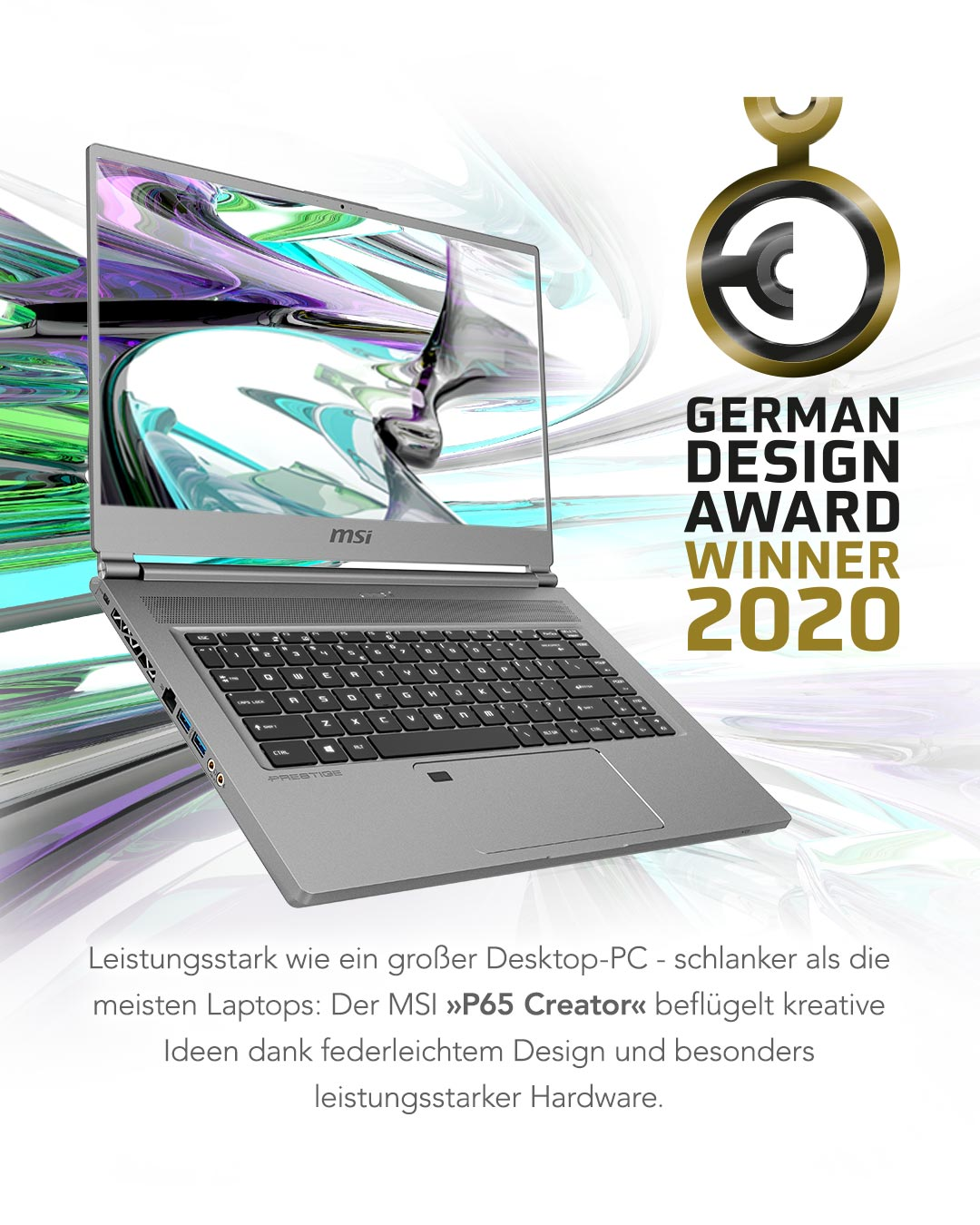 P65 German Design Award