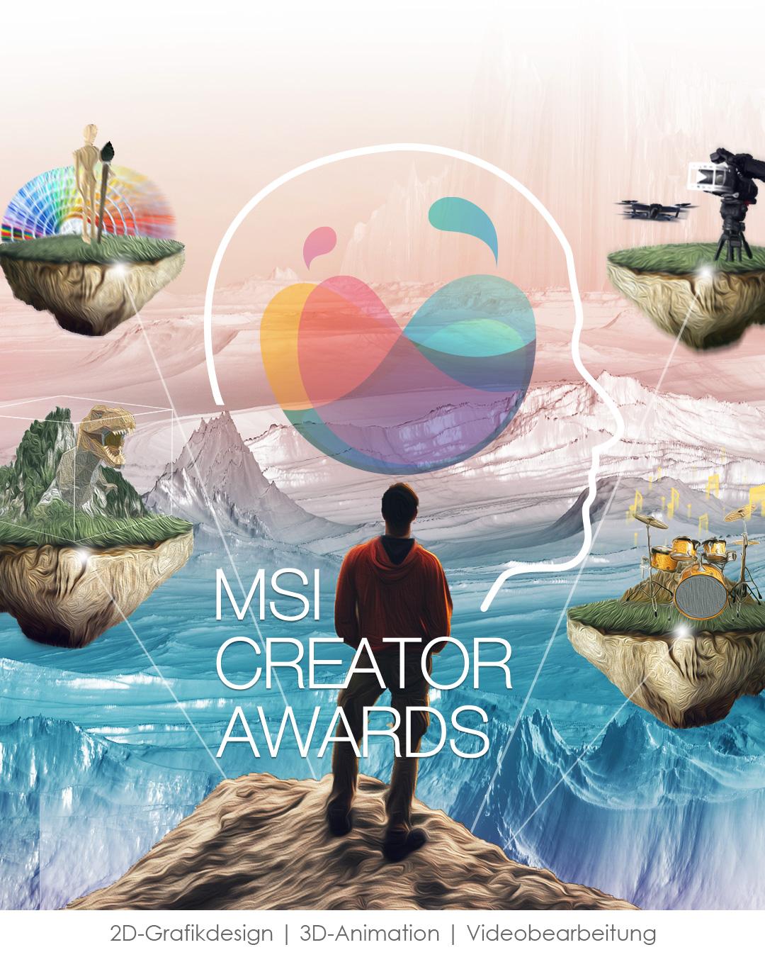 MSI Creator awards