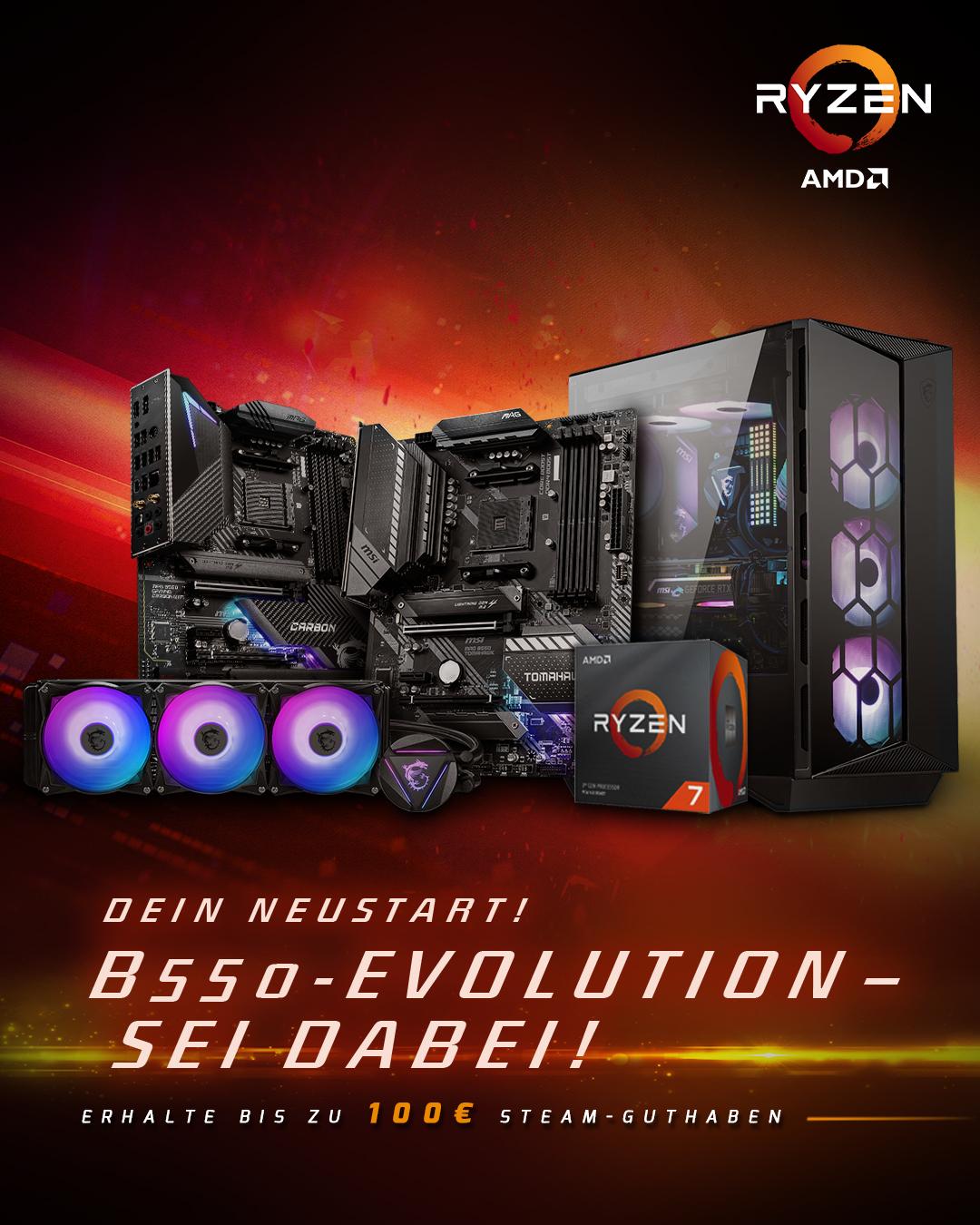 B550 + AMD CPU promotion
